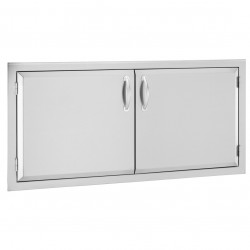 Alturi 42-in. Luxury Stainless Steel Double Doors