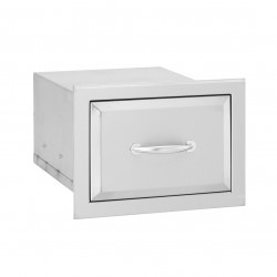 Alturi Stainless Steel Single Drawer