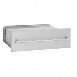 "Alturi Luxury 36"" Stainless Steel Storage Drawer"