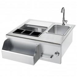 Summerset Stainless Steel Beverage Center w/Sink