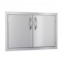 """Summerset Stainless Steel 30"""" Double Door"""