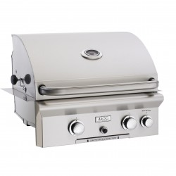 AOG 24-in. Stainless Steel Built-in Natural Gas Grill w/Rotisserie