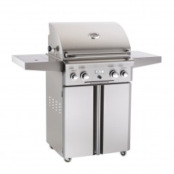AOG 24-in. Stainless Steel Propane Gas Grill on Cart
