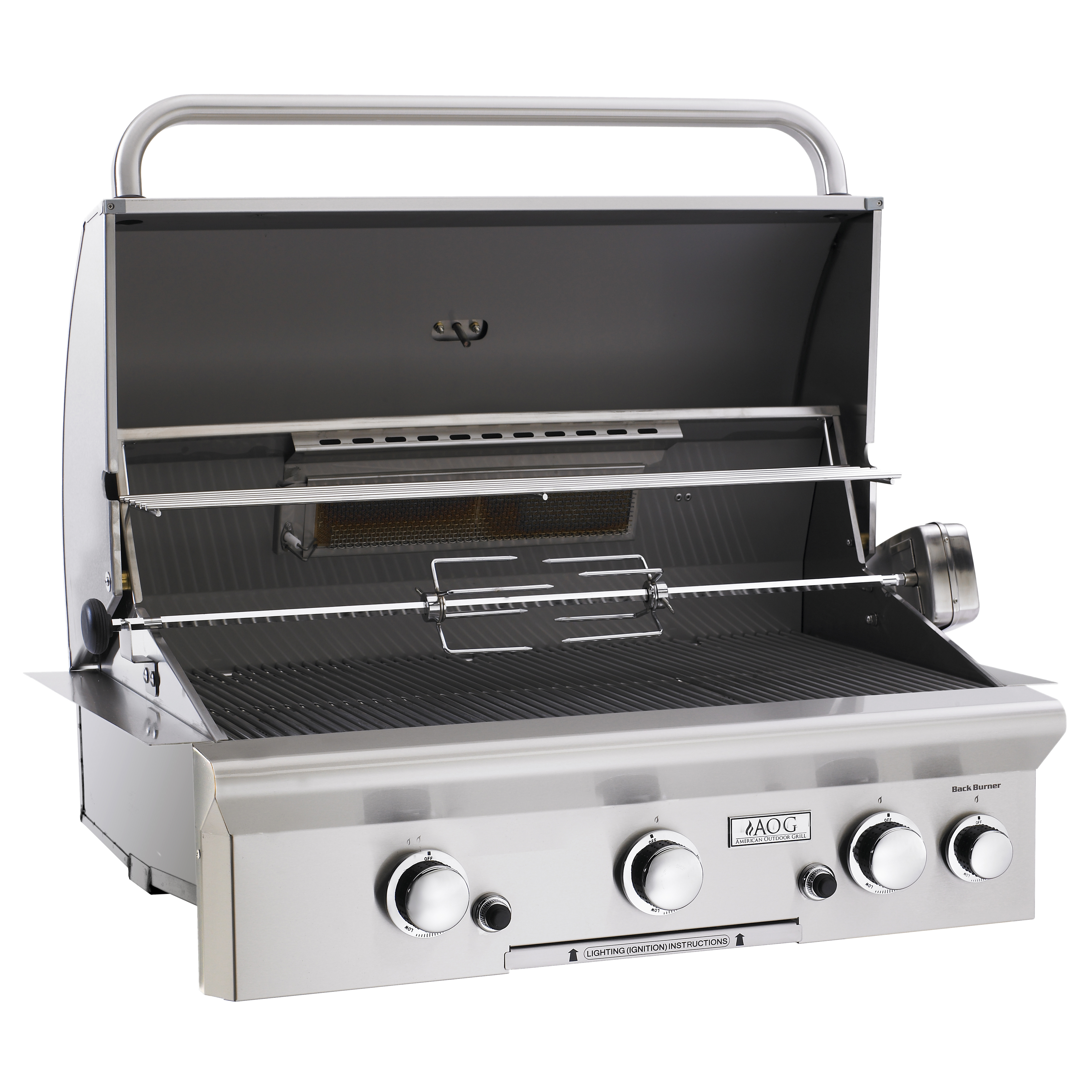 Aog quot t series stainless steel built in natural gas