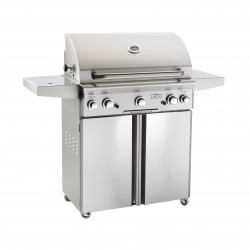 AOG 30 Inch Stainless Steel Gas Grill on Cart