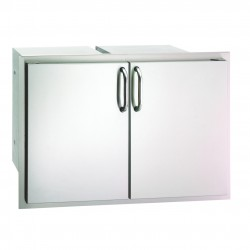 Fire Magic Aurora 30-in. Select Stainless Steel Double Doors w/Two Dual Drawers