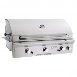 AOG 36-in. Stainless Steel Built-in Natural Gas Grill w/Rotisserie