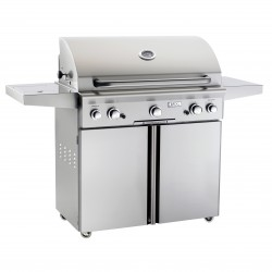 AOG 36-in. Stainless Steel Propane Gas Grill on Cart