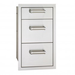 Fire Magic Echelon Flush- Mounted 14-in. Triple Access Drawers