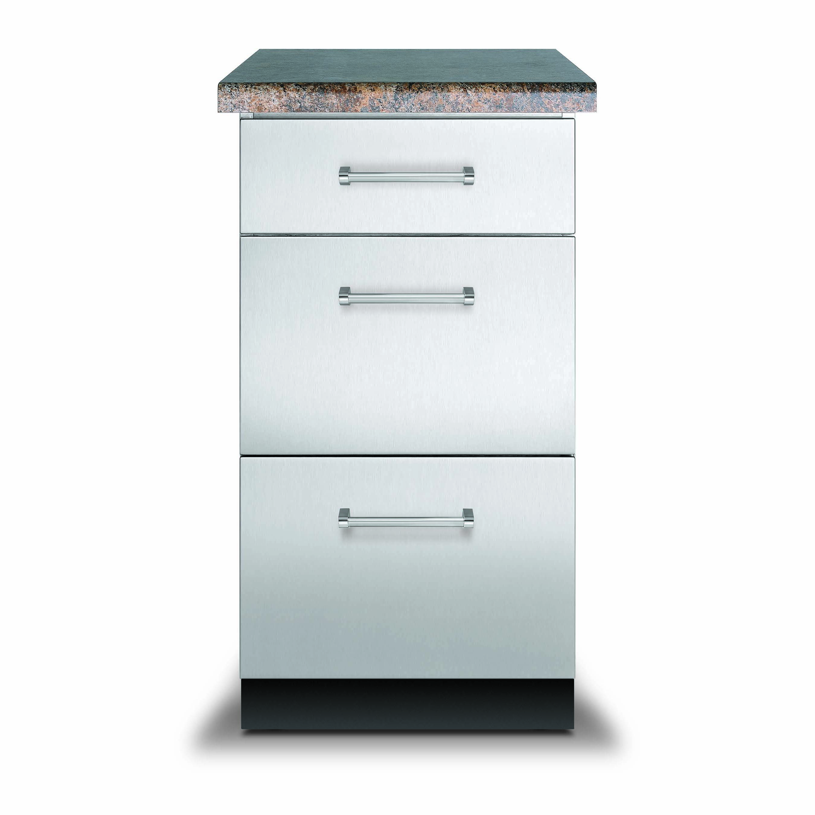 Viking 18 In X 30 In Base Cabinet W 3 Drawers VBO1830