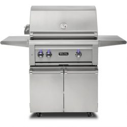 "30""W. Freestanding Grill with ProSear Burner and Rotisserie, VQGFS5300"