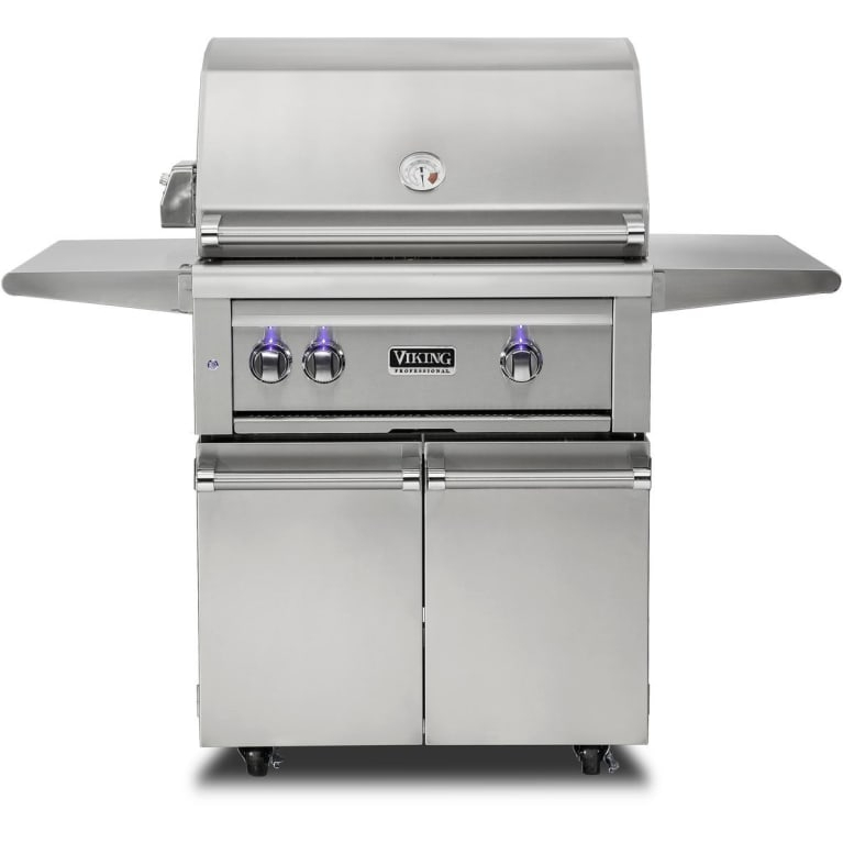 Viking 30 Quot Freestanding Grill W Prosear Burner And Rotisserie Vqgfs5300 Thegrillfather Com