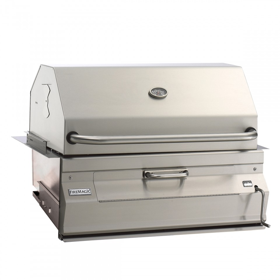 Black Magic I M In Love With The Charcoal: Fire Magic Legacy Charcoal 30-in. Built-in Barbecue Grill