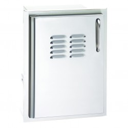 Fire Magic Aurora 14-in. Select Stainless Steel Single Access Door w/Tank Tray & Louvers