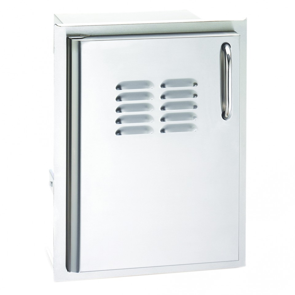 Stainless Access Doors : Fire magic aurora in stainless steel single access