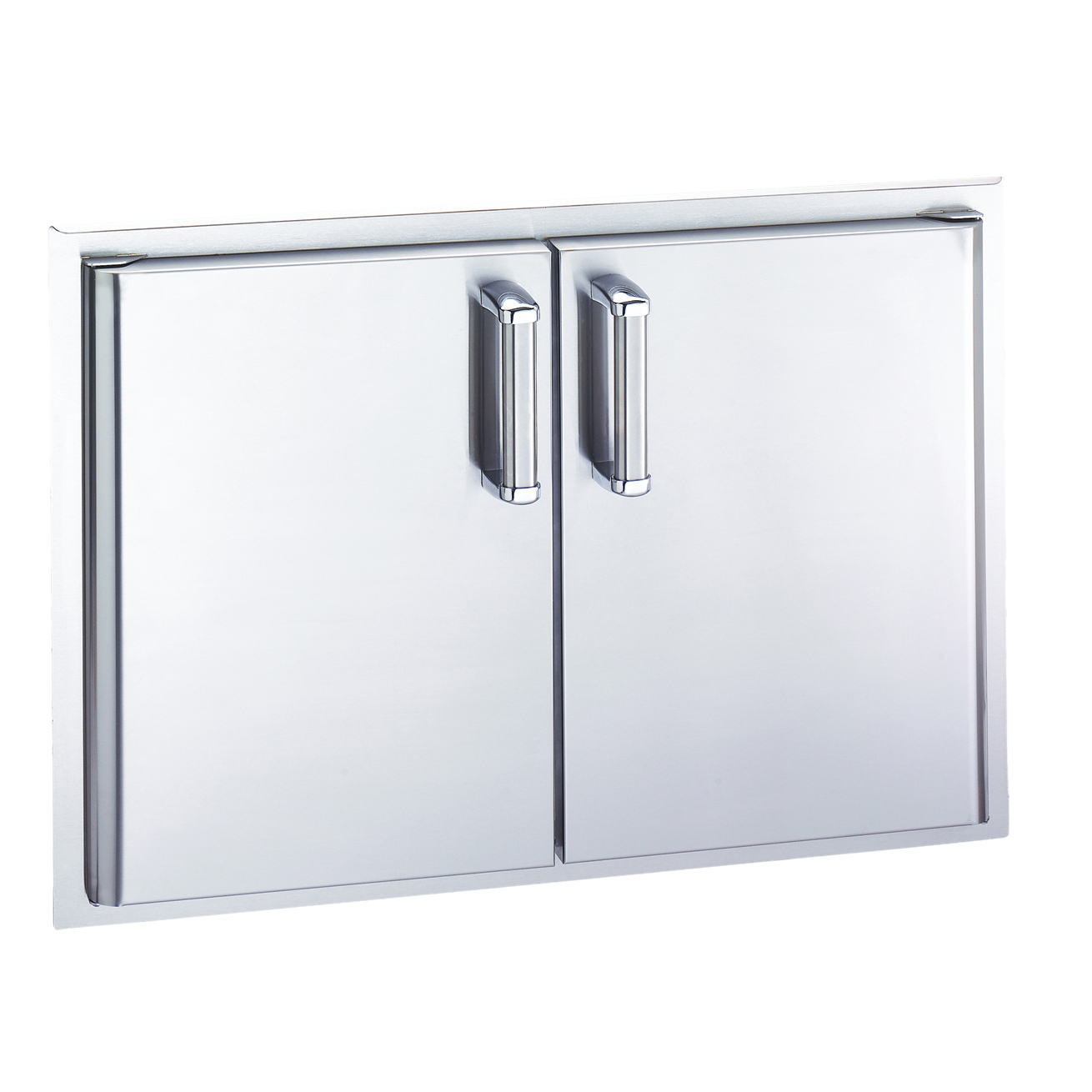 Access Door For Metal Doors : Fire magic inch stainless steel double access door