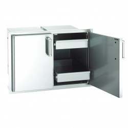 Fire Magic Echelon 30 Inch Enclosed Cabinet Storage w/Drawers