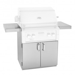 "Alturi 30"" Luxury Stainless Steel Grill Cart"