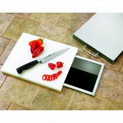 Alturi Luxury Stainless Steel Trash Chute w/Cutting Board