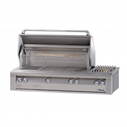 Alfresco 56-in. Built-in SearZone Gas Grill w/Sideburner & Rotisserie ALX2-56SZ