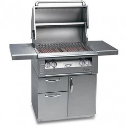 Alfresco 30-in. Standard Gas Grill w/Rotisserie on Deluxe Cart AGBQ-30CD