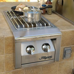 Alfresco Built-in 14-in. Double Side Burner AGSB-2
