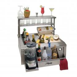 Alfresco 4 Bottle Wells & Holder Tray for Main Sink BWELL