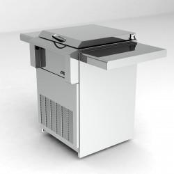 Alfresco 24-in. Drop in Refrigerator w/Cart ARDIC