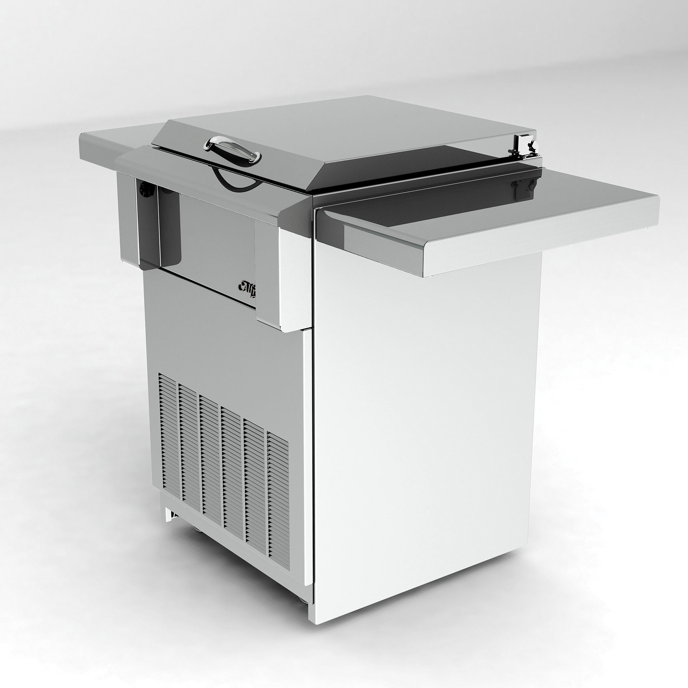 Alfresco 24 In Drop In Refrigerator W Cart