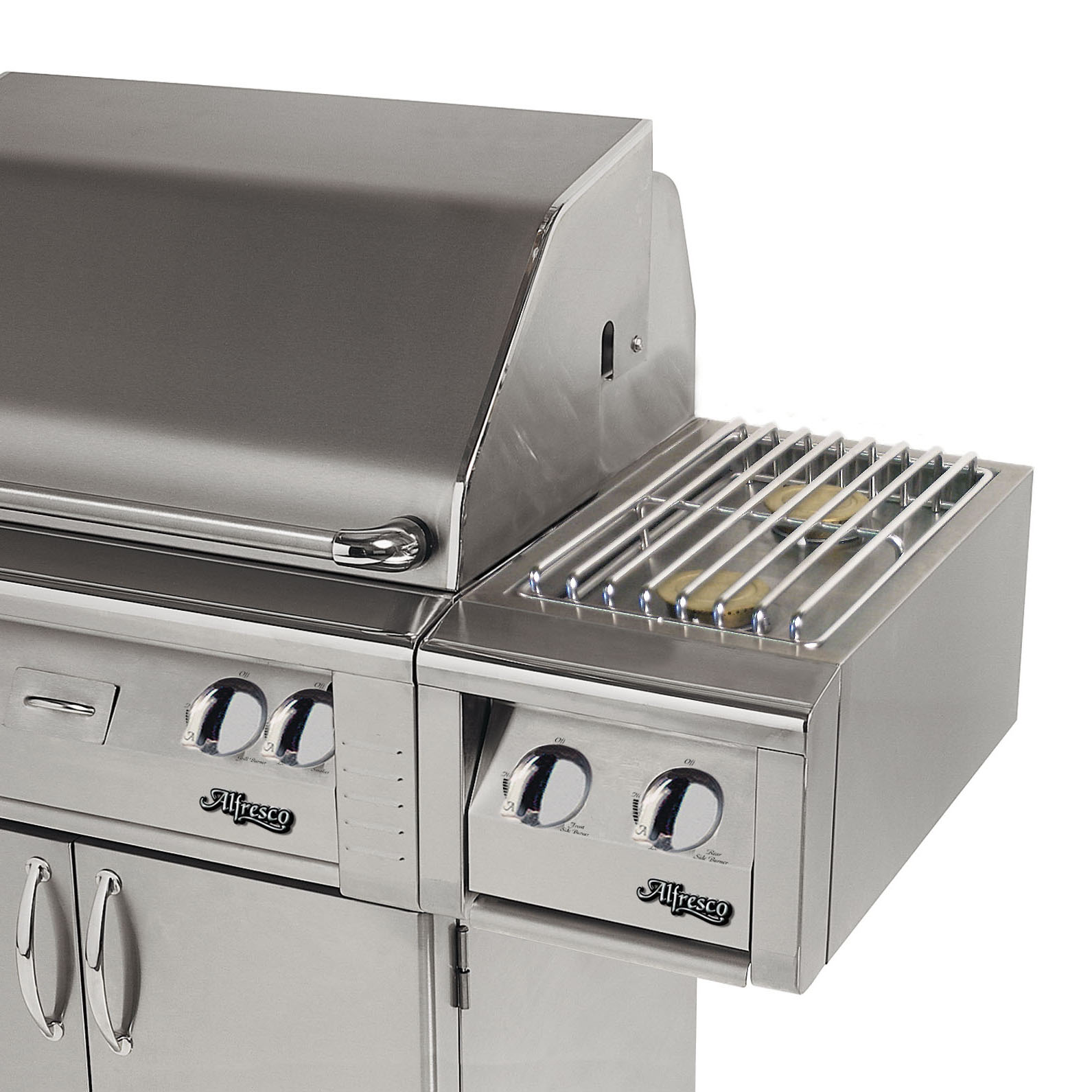 Alfresco Built In 14 Quot Double Side Burner For Cart Axesb