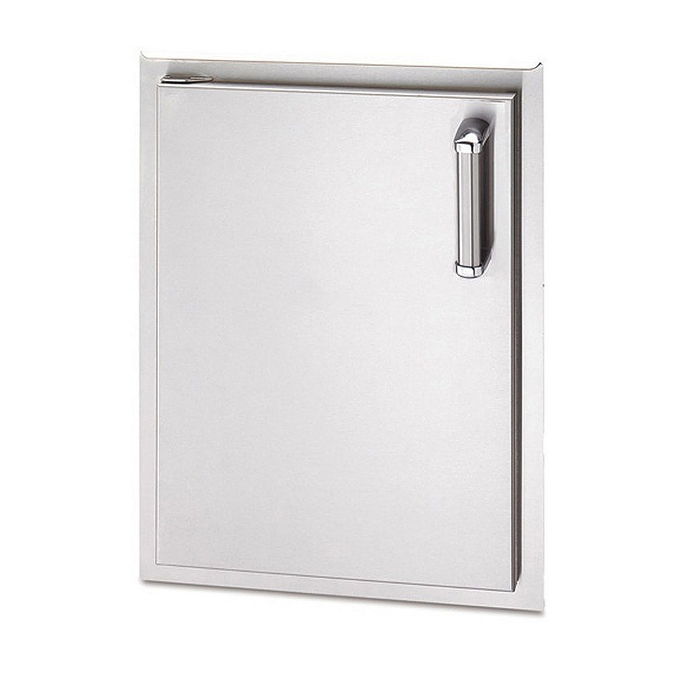 Stainless Access Doors : Fire magic in stainless steel vertical single access