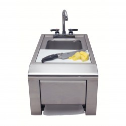 Alfresco Prep & Hand Wash Sink w/Towel Dispenser ASK-T