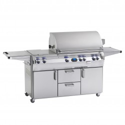 Fire Magic Echelon Diamond E790 Gas Grill w/Single Side Burner on Cart