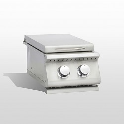 RCS Agape Double Side Burner with LED Lights, Slide-In - ADB1