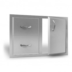 RCS Agape Door and Double Drawer Combo 30-in. - ADC1
