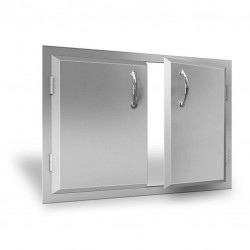 RCS Agape Horizontal Doors, Double 30-in. - ADD1