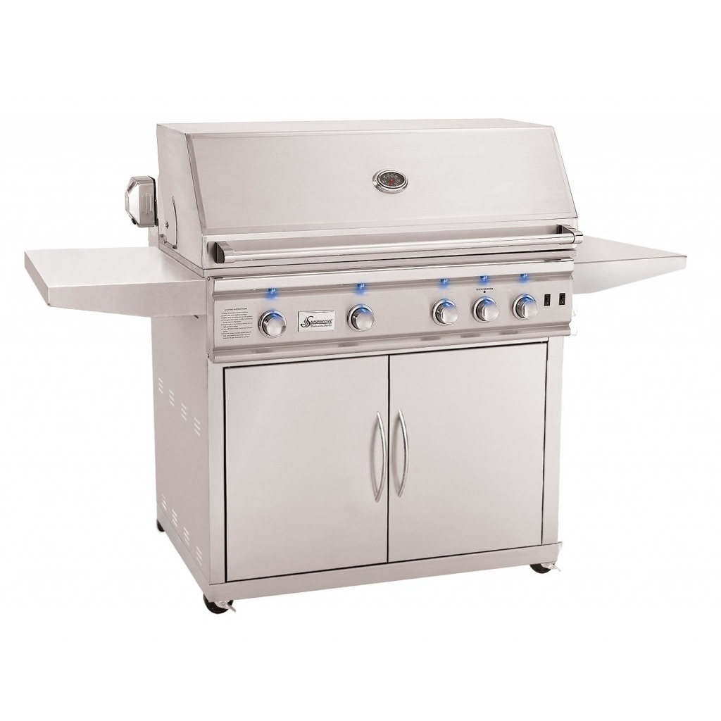 Summerset trl in stainless steel gas grill on cart