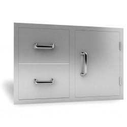 RCS Door and Double Drawer Combo, 30-in. - RDC1