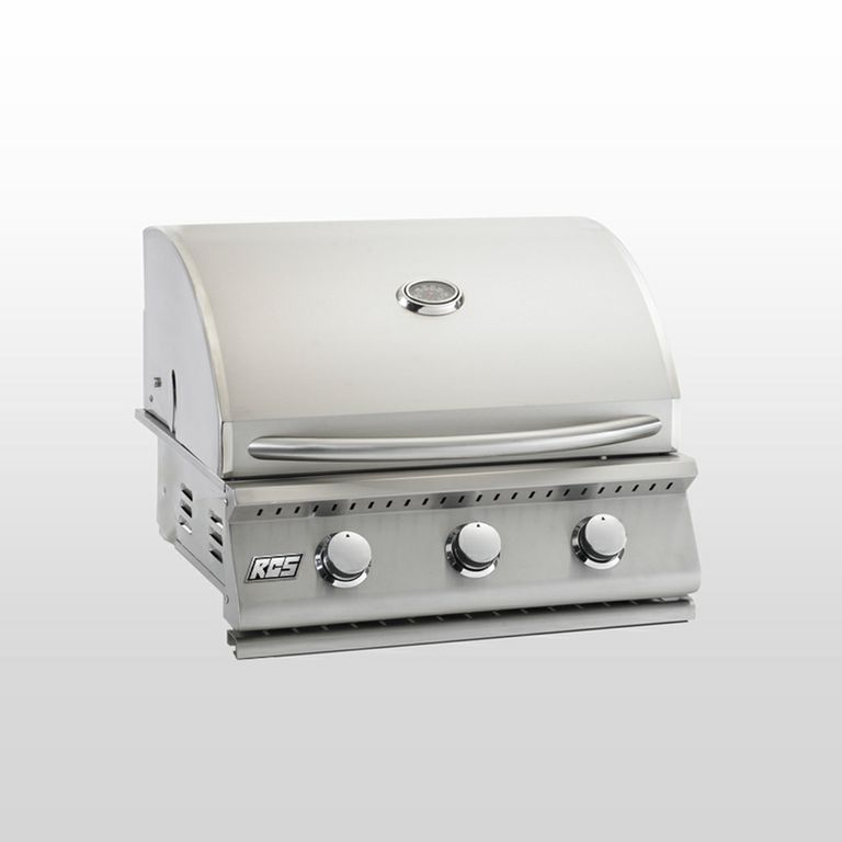 RCS Junior 26-in. Liquid Propane Stainless Steel Built-in Gas Grill - RJC26LP