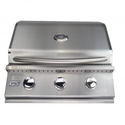 "RCS Junior 26"" Stainless Steel Built-in Gas Grill, RJC26A"