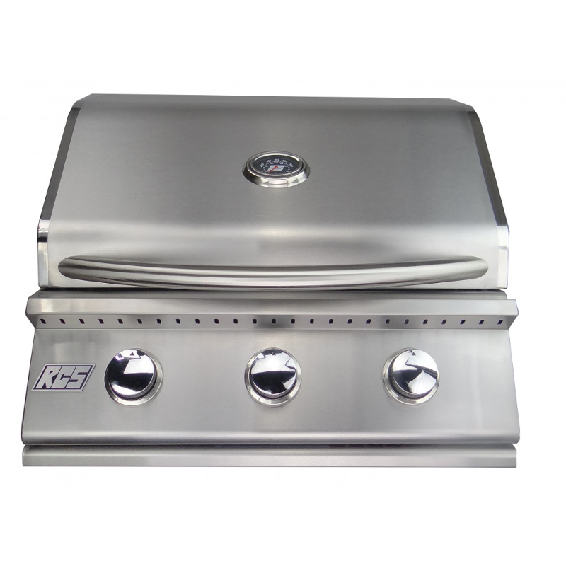 """RCS Junior 26"""" Stainless Steel Built-in Gas Grill, RJC26A"""