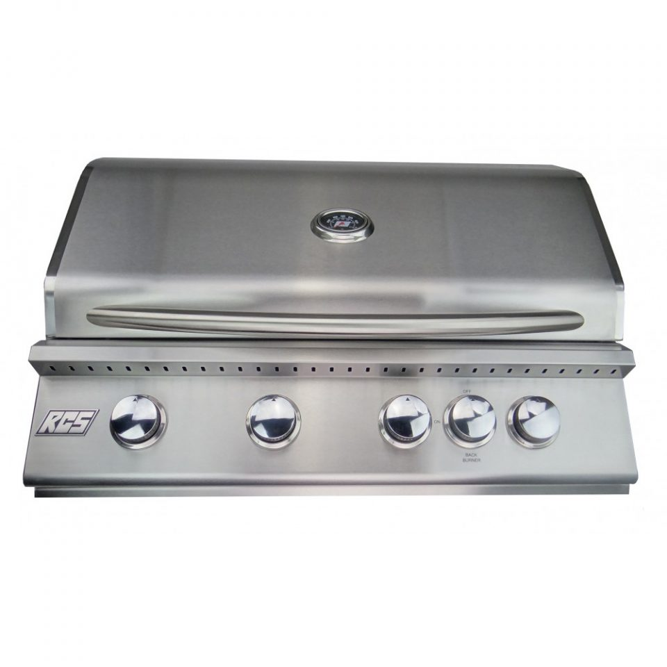 """RCS Junior 32"""" Stainless Steel Built-in Gas Grill, RJC32A"""