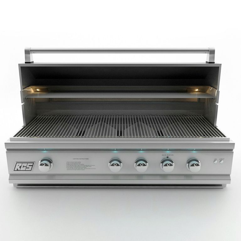 pro stainless steel builtin premium gas grill ron42a natural gas or propane - Natural Gas Grill