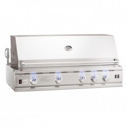 Summerset TRLD44 Stainless Steel Gas Grill w/ Rotisserie, LED Lights