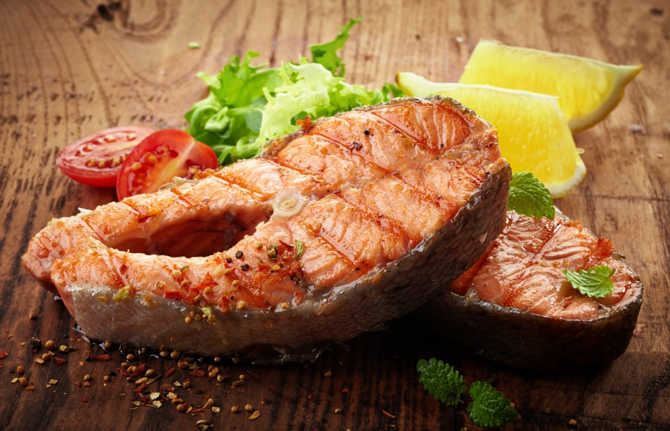 Grilled Salmon Steaks with Chile-Lime Butter – Grillin' in the Spring Series