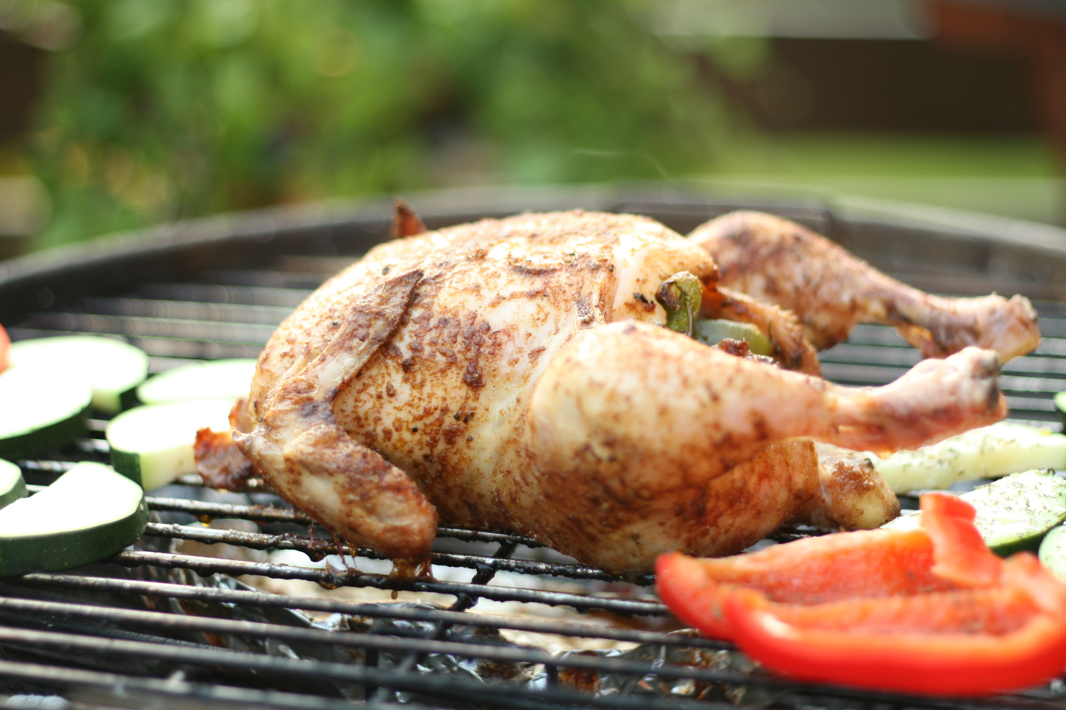 Peruvian Style Grilled Chicken with Green Sauce – Mother's Day ...