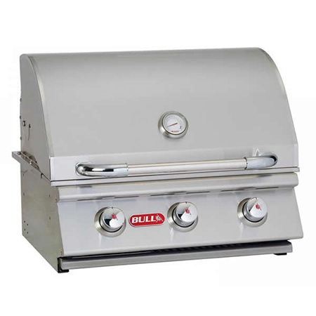 Bull Outdoor Products 24 Steer Premium Stainless Steel Gas Grill Buiilt In Lp 69008 Or
