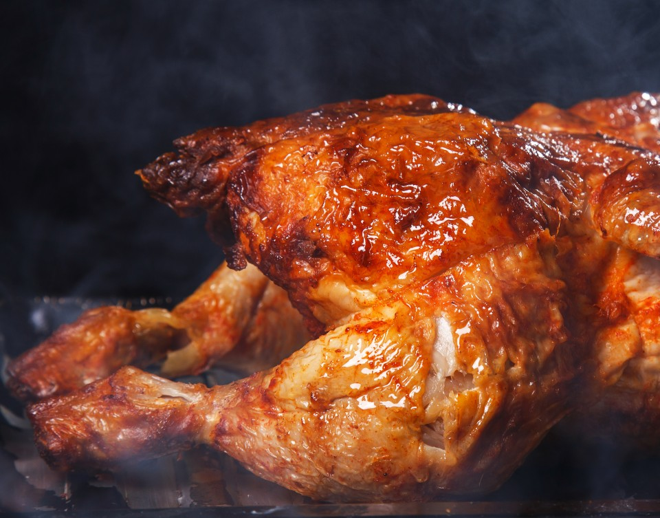Grilled Whole Turkey – Thankful It's Thanksgiving! Series