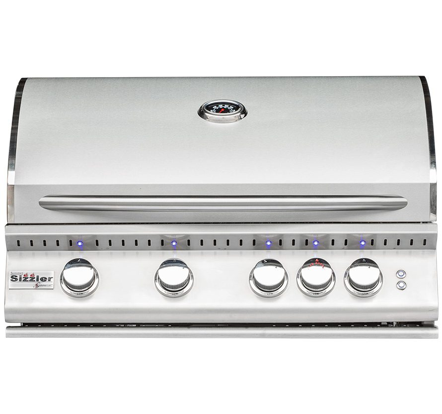 "Summerset Sizzler PRO32"" Stainless Steel Built-in Gas Grill - SIZPRO32"