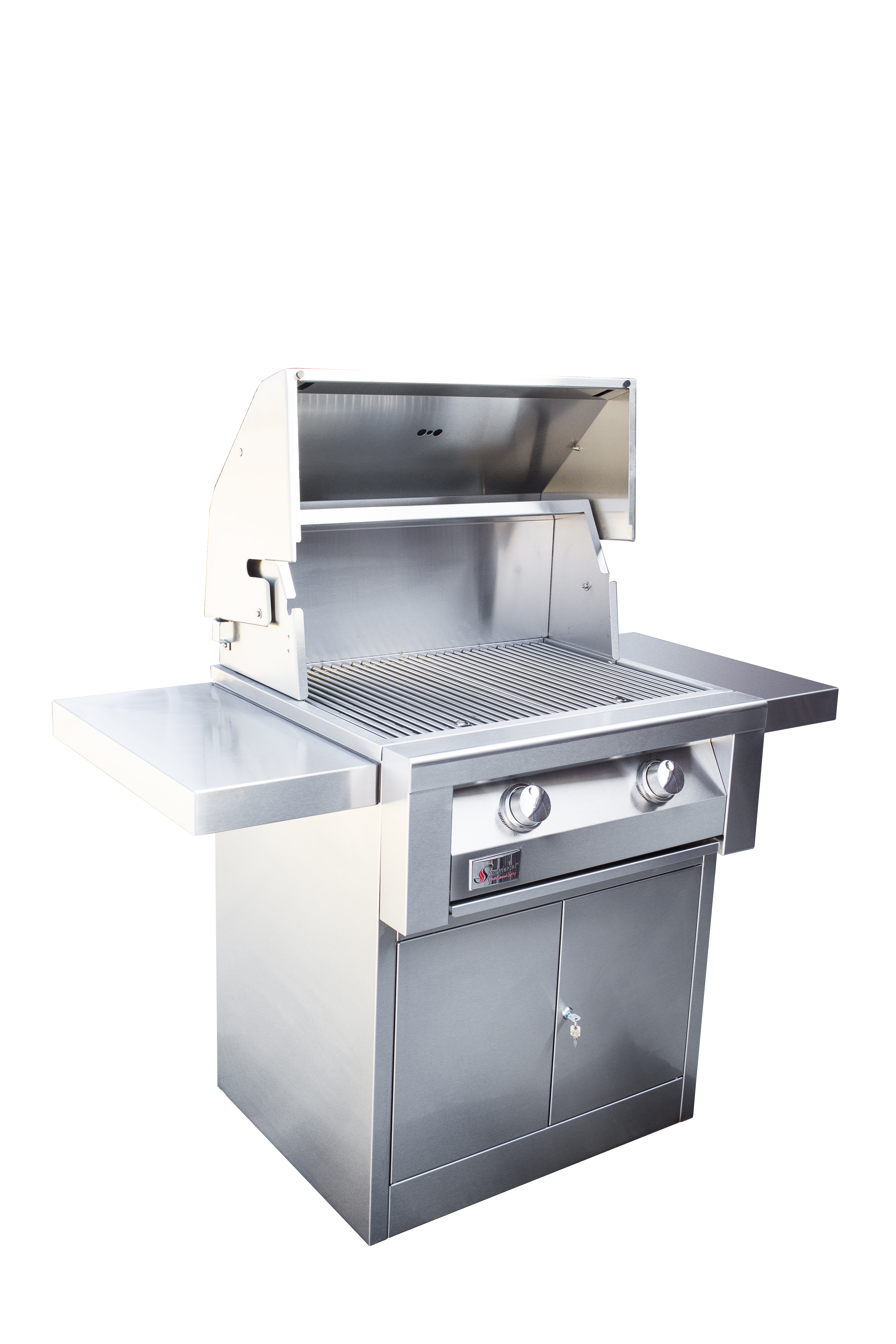 """Built In Grill: Summerset TRLD 32"""" Built-in Grill, Deluxe Stainless Steel"""